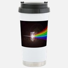 Space Prism Rainbow Spectrum Stainless Steel Trave