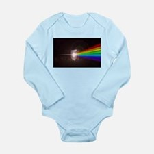 Space Prism Rainbow Spectrum Long Sleeve Infant Bo