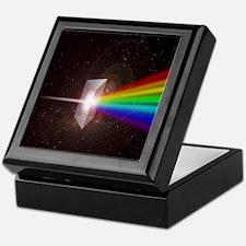 Space Prism Rainbow Spectrum Keepsake Box