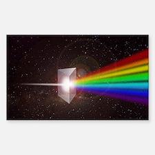 Space Prism Rainbow Spectrum Decal