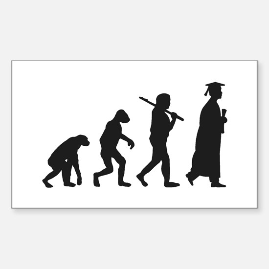 Graduation Evolution Decal