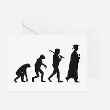 Graduation Evolution Greeting Cards