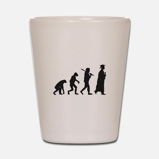 Graduation Evolution Shot Glass