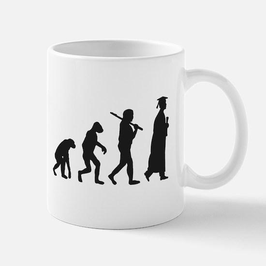 Graduation Evolution Mugs