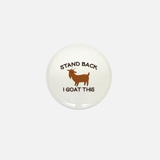 I Goat This Mini Button