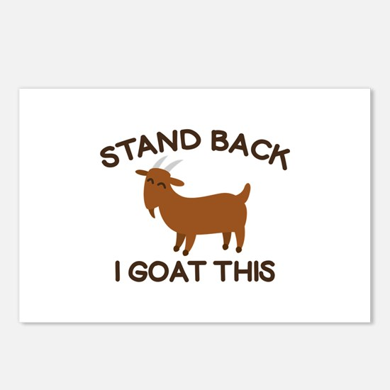 I Goat This Postcards (Package of 8)