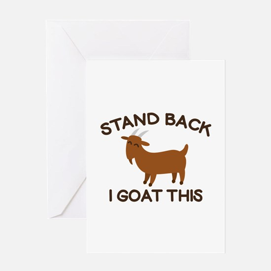 I Goat This Greeting Card