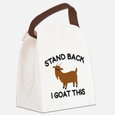 I Goat This Canvas Lunch Bag
