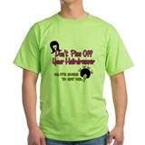 Hair stylist Green T-Shirt