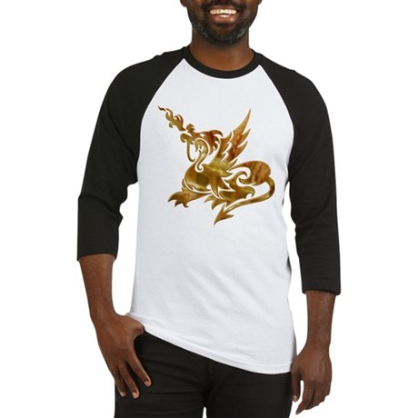 Gold Dragon Baseball Jersey