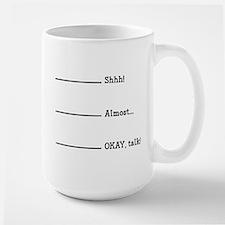 Morning Coffee Large Mug