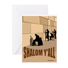 SHALOM Y'ALL Greeting Cards (Pk of 10)