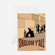 SHALOM Y'ALL Greeting Card