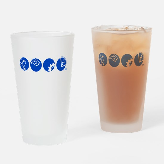 STEM Education Icons Drinking Glass