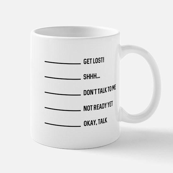 Okay Talk Mug