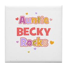 Becky Tile Coaster