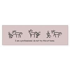 I am a Professional: Farrier / Bumper Bumper Sticker