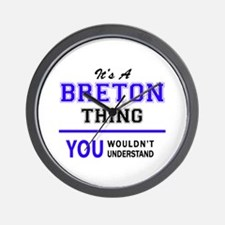 It's BRETON thing, you wouldn't underst Wall Clock