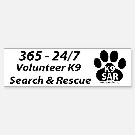 365 - 24/7 Volunteer K9 SAR
