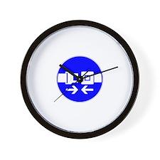Seatbelt Wall Clock