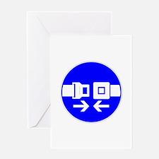 Seatbelt Greeting Card