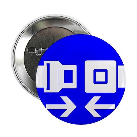 "Seatbelt 2.25"" Button (100 pack)"
