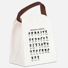 Maori Haka Canvas Lunch Bag