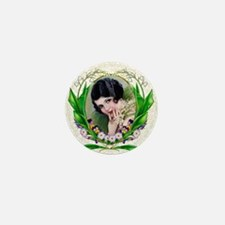 Art Deco Bridal Charmer Mini Button