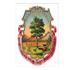 Dakota Coat of Arms Postcards (Package of 8)