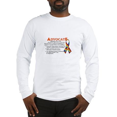 Autism ADVOCATE Long Sleeve T-Shirt
