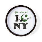 Eid - New York City Wall Clock