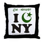 Eid - New York City Throw Pillow