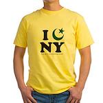 New York City - Islamic Yellow T-Shirt