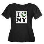 New York City - Islamic Women's Plus Size Scoop Ne