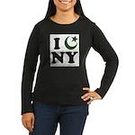 New York City - Islamic Women's Long Sleeve Dark T
