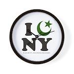 New York City - Islamic Wall Clock