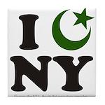 New York City - Islamic Tile Coaster