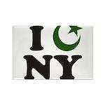 New York City - Islamic Rectangle Magnet (10 pack)
