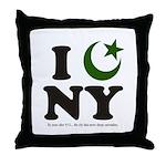 New York City - Islamic Throw Pillow
