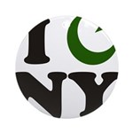 New York City - Islamic Ornament (Round)