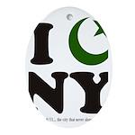 New York City - Islamic Oval Ornament