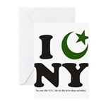 New York City - Islamic Greeting Cards (Pk of 10)
