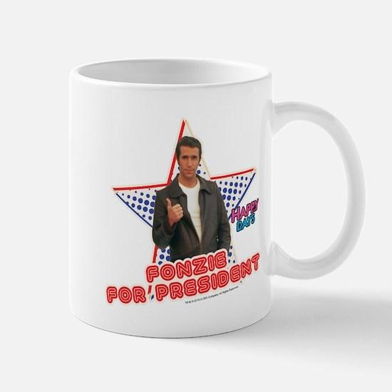 Fonzie for President Mug