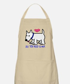 All you Need Is Wuf Apron