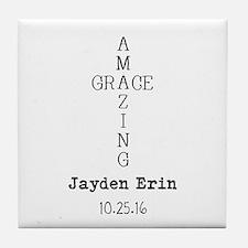 Amazing Grace Cross Custom Personalized Tile Coast