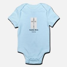 Amazing Grace Cross Custom Personalized Body Suit