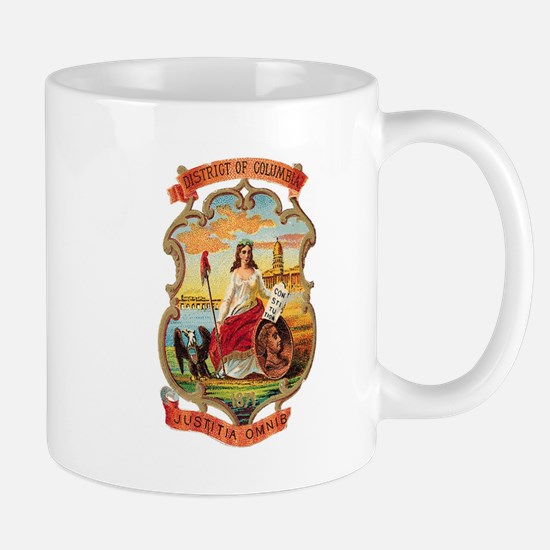 Washington DC Coat of Arms Mug