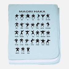 Maori Haka baby blanket