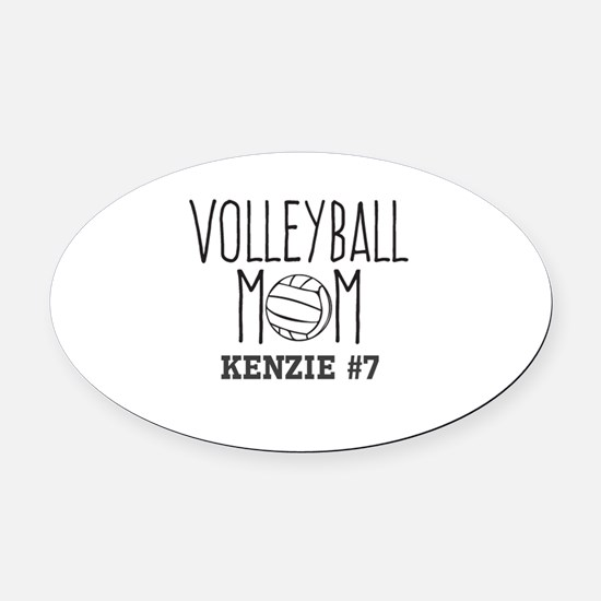 Volleyball Mom Car Magnets CafePress - Custom volleyball car magnets