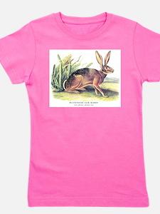 Cute Hare Girl's Tee